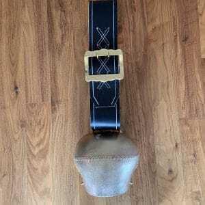 140mm Froschmaulschelle mit Riemen