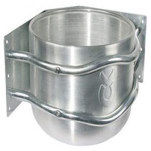 Aluminium Trog Eckmontage