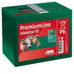 Batterien Alkaline 9 Volt 55 Ah - AKO