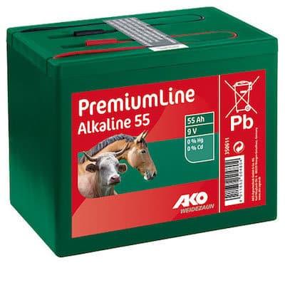 Batterien Alkaline 9 Volt 55 Ah