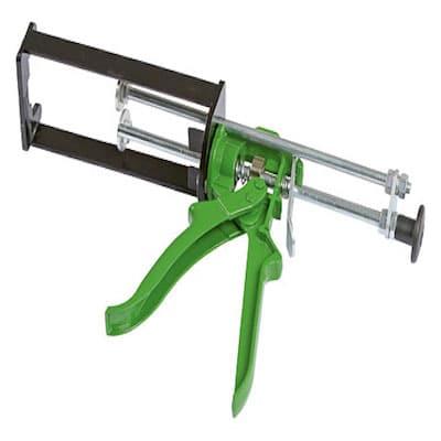Dosierpistole für Kartusche grün