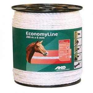 EconomyLine Weidezaunseil 6 mm 200 m - AKO