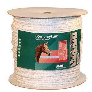EconomyLine Weidezaunseil 6 mm 500 m - AKO