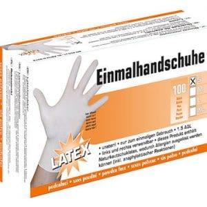 Handschuhe Latex Top