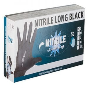 Nitrile Long Black