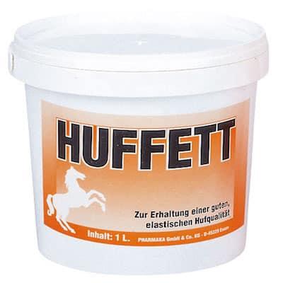 Euro Huffett schützt vor spröden, rissigen Hufen