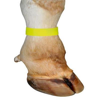 Fußfessel Markierungsbänder gelb