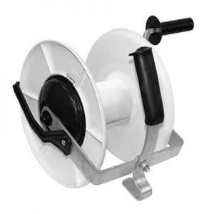 Getriebehaspel mit Stahlkurbel