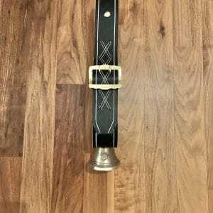 Glocke 10 cm mit Riemen