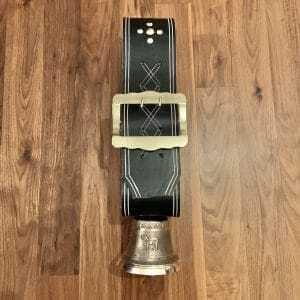 Glocke 14 cm mit Riemen