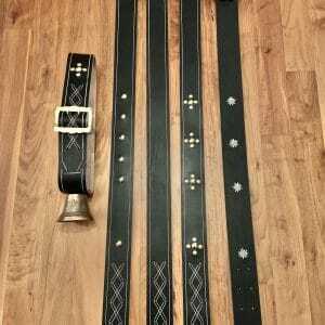 Glocken 11 , 5 cm mit Riemen+1