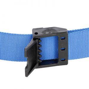Halsmarkierungsband mit Klemmverschluss blau