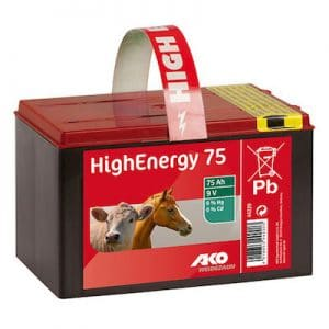 Saline 9 Volt Trockenbatterie