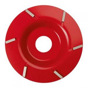 Klauenschneidscheibe P6 rot