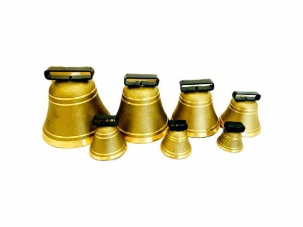 Glocke aus Messing mit Bügel 50 bis 150mm