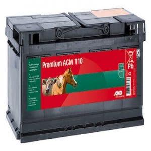 Premium AGM Batterie 12 V, 110 Ah - AKO