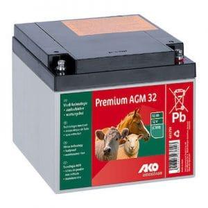 AGM Batterie 12 V, 32 Ah
