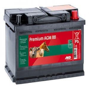 Premium AGM Batterie 12 V, 88 Ah - AKO