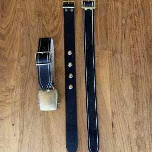 Schelle Flach 70mm mit Riemen - Agrarversand Eder