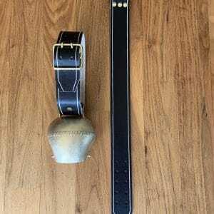 Schelle Froschmaul 80mm mit Riemen