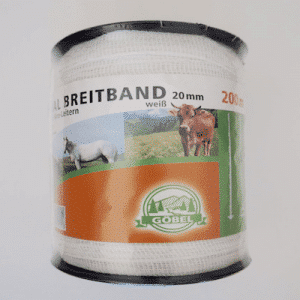 Spezial Breitband 20 mm 200 m weiß - GÖBEL