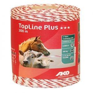 TopLine Plus Weidezaunlitze 300 m - AKO
