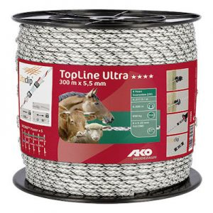 TopLine Ultra Weidezaunseil 6 mm 300 m - AKO
