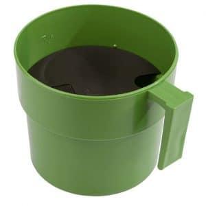 Vormelkbecher Standard grün