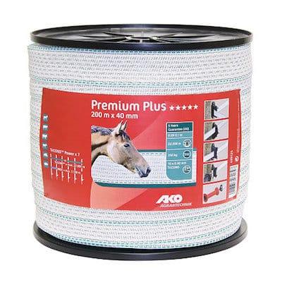 Weideband Premium Plus 40 mm 400 m - AKO