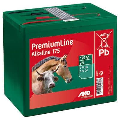 Weidezaunbatterien Alkaline 9 Volt 175 Ah