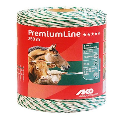 Weidezaunlitze PremiumLine 250 m - AKO