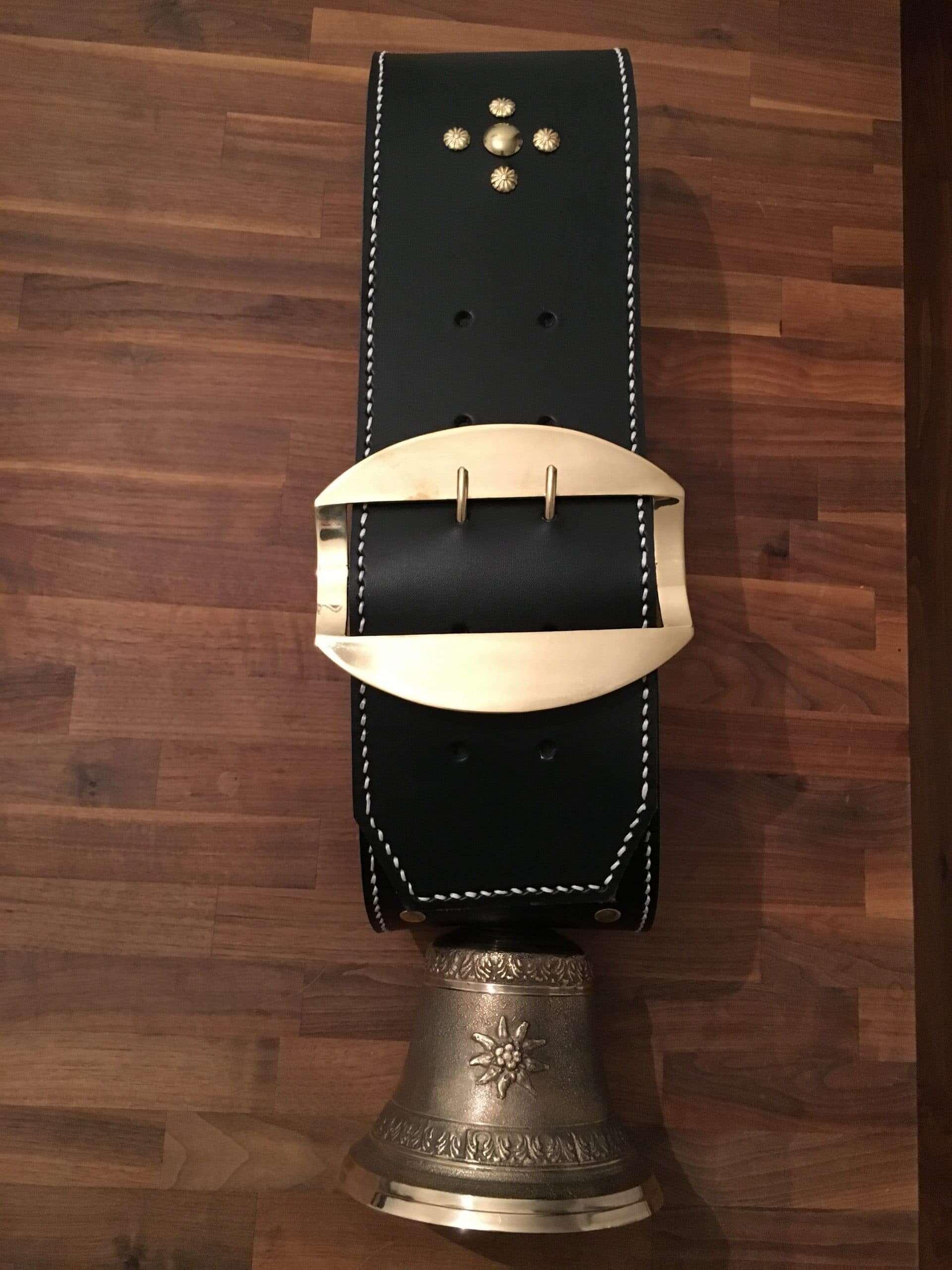 16 cm Glocke mit weißem Rand