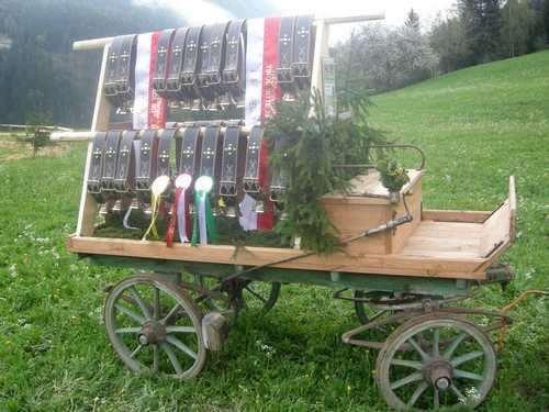Wagen mit 12 cm Glocken