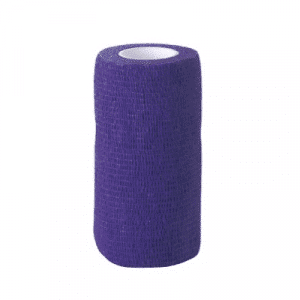 Selbsthaftende Bandagen EquiLastic blau