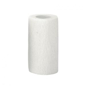 Selbsthaftende Bandagen EquiLastic weiß