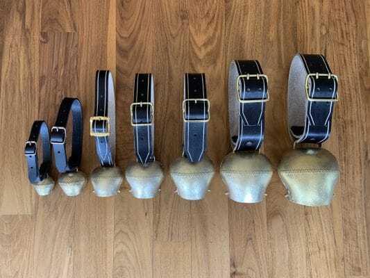 Glocken - Schellen - Riemen - Froschmaul 30 bis 40mm